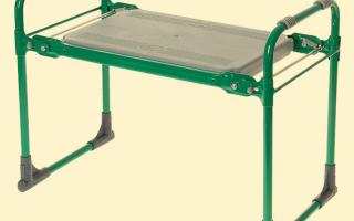 Скамейки для огорода: как помогают облегчить прополку и другие работы и какие бывают