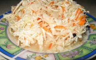 Квашеная капуста: простые рецепты приготовления