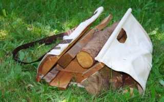 Переноска для дров своими руками — варианты изготовления приспособления