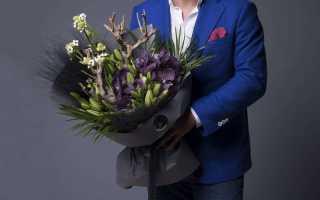 Какие цветы дарят мужчинам на день рождения или другие праздники