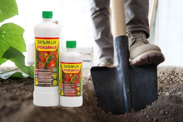 «Экомик Урожайный» - для восстановления плодородия почвы в теплице