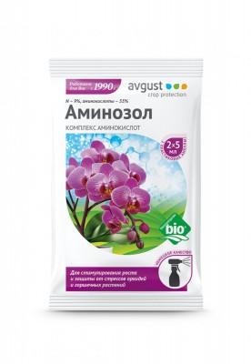 Жидкое органическое удобрение с аминокислотами для орхидей и других цветочных культур – «Аминозол для орхидей»
