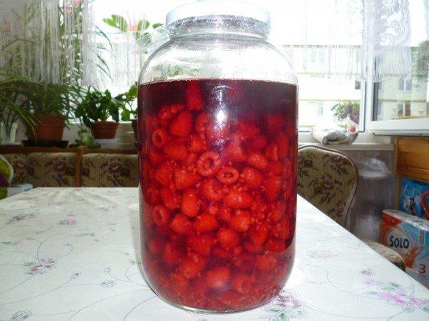 Рецепт наливки из малины на алкогольной основе фото
