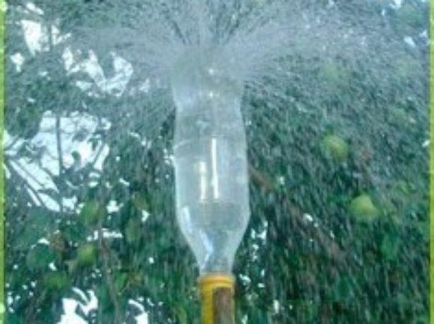 Полив дождеванием