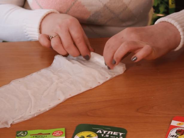 Изготовление улитки для семян