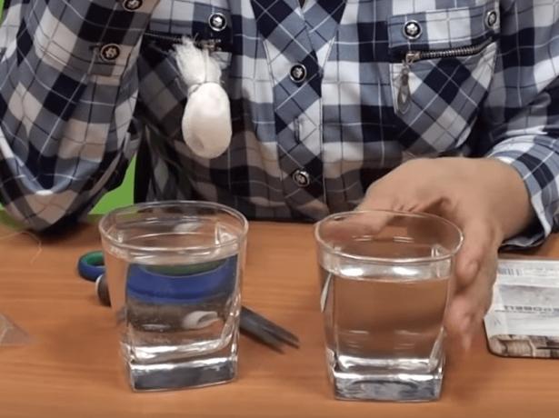 Обработка семян горячей и холодной водой