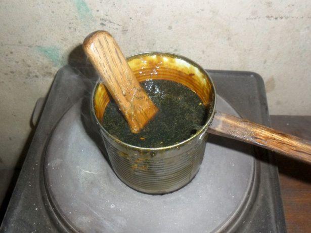 Приготовление вара из нигрола