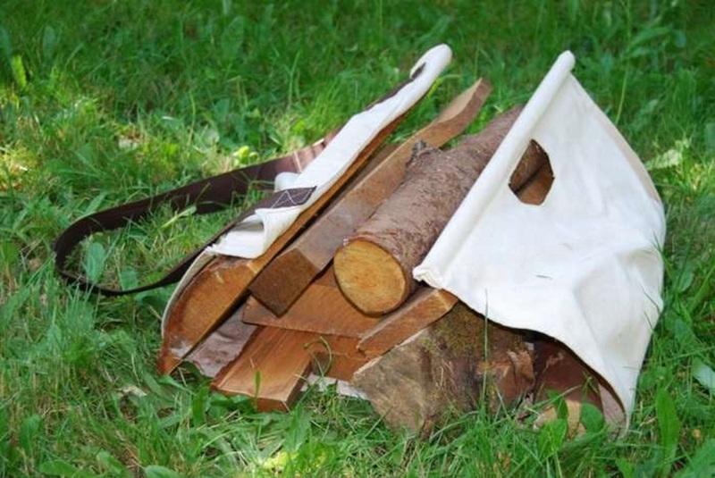 Как сделать переноску для дров своими руками