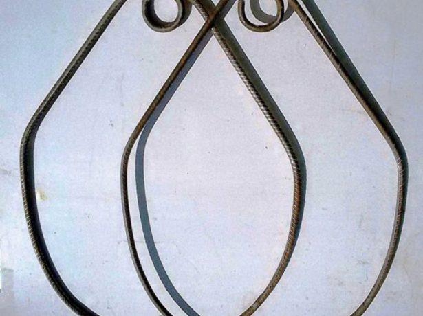 Приваривание колец в верхней части заготовки