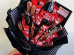 «Букет» из шоколадок
