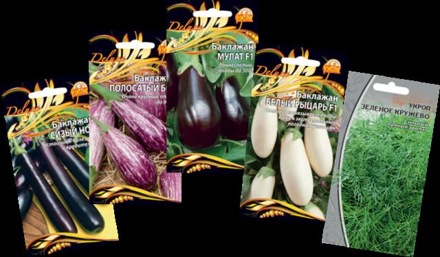 Семена баклажан от компании ООО «Ваше хозяйство»